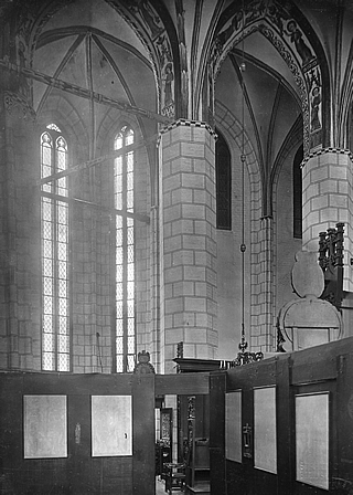 southestern choir, about 1930