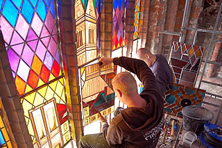 Installation of the window 2009